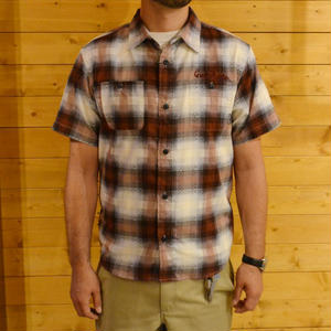 S/S CHECK SHIRT RED