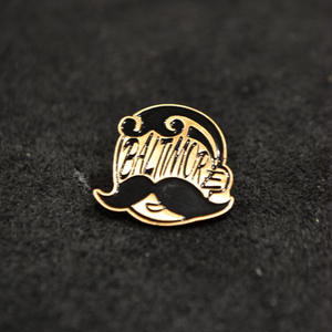 NATIONAL BOHEMIAN BEER PINS SHILVER