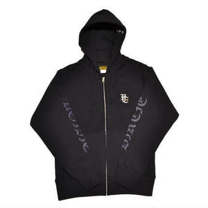 HARDEE BURN ZIP HOOD NAVY/NAVY