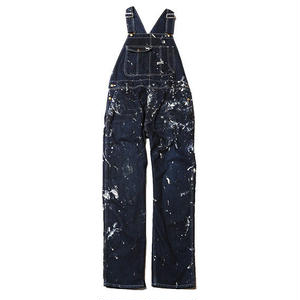 CUT RATE USED PAINTING DENIM OVERALL INDIGOBLUE CR-17AW023