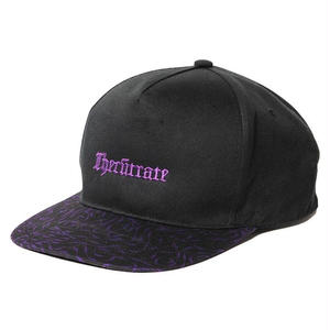 CUTRATE  2 TONE SNAP BACK CAP BLACK CR-18SS068