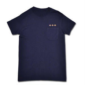 HARDEE BURN POCKET T-SHIRT NAVY