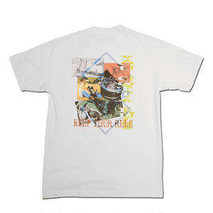 HARDEE GOTTA RULE T-SHIRT WHITE