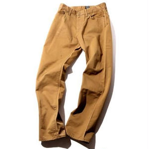 5 POCKET SLIM CHINO PANTS BEIGE CR-16S038
