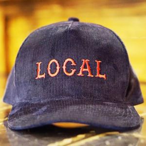 CORDUROY LOCAL CAP NAVY