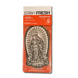 STAY+FRESH AIR FRESHENER USUGROW/SANDALWOOD