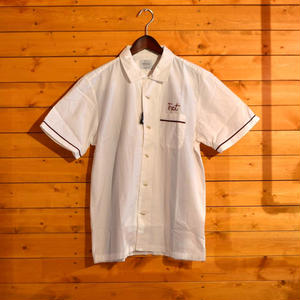 30%OFF LASSO BOWLING SHIRT WHITE[#9320]