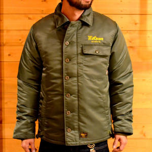 HIGH TIME NYLON DECK JACKET OLIVE[#7510]