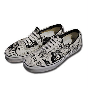 VANS ERA NEWSPRINT WHITE VN0003Z512O