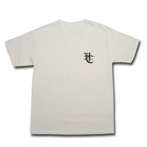 HARDEE HC POCKET T-SHIRT WHITE