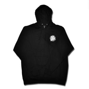 SKETCHY TANK DIE HIGH PULLOVER HOOD BLACK