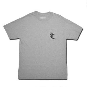 HARDEE HC POCKET T-SHIRT GRAY