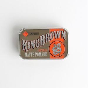 KING BROWN MATT POMADE