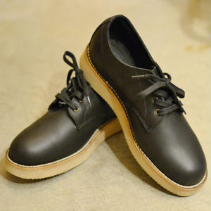 OXFORD PLAIN BOOTS BLACK[111-01]