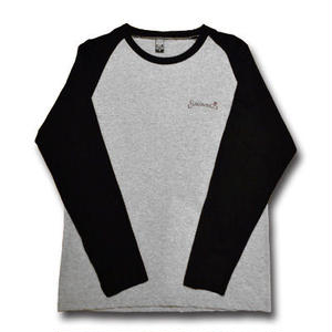 HARDEE SUBLIMINAL LONG SLEEVE TEE GRAY&BLACK