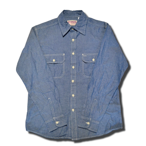 CAMCO CHAMBRAY SHIRT BLUE