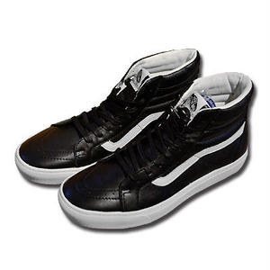VANS SK8-HI CUP CA LEATHER BLACK/WHISPER WHITE VN000177LA6
