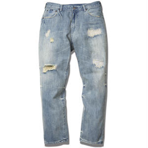 FUCT SSDD DAMAGED DENIM H.WASH #6202