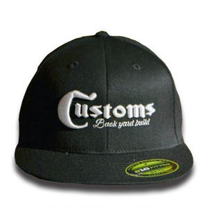 CUSTOMS 15 CAP BLACK[MADCUSTOM15]