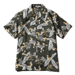 CUT RATE  S/S ALOHA SHIRT OLIVE CR-17SS066