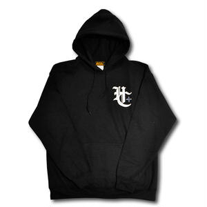 HARDEE HC+ PULL OVER HOOD BLACK