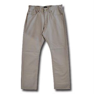 CUT RATE 5 POCKET SLIM CHINO PANTS GRAY