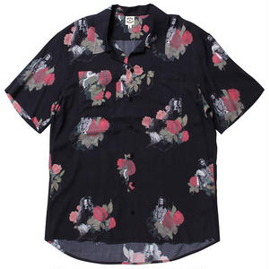 BORN X RAISED JAY HOVA BUTTON UP S/S SHIRT #33201