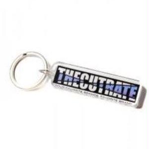 CUT RATE MAIN LOGO KEY HOLDER BLUE CR-18AW002