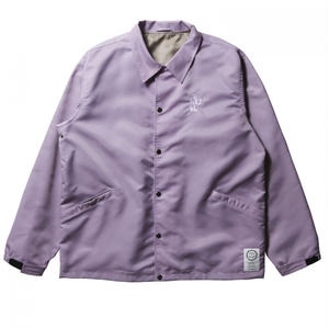 BORN X RAISED  SNOOTY FOX COACHES JACKET LAVENDER #34001