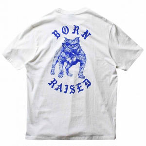 BORN X RAISED BORDWALK T-SHIRT WHITE