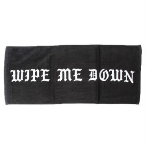 BORN X RAISED  SEX TOWEL BLACK #34906