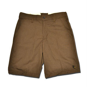 HARDEE THE KNEE SHORT PANTS BROWN