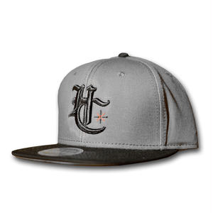 HARDEE NEED GAS SNAP BACK CAP GRAY&BLACK