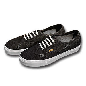 VANS AUTHENTIC CA DENIM STITCH BLACK&WHITE VN000ZUIHUC