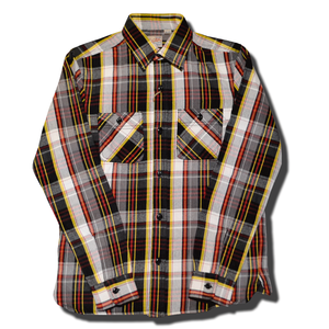 HOUSTON VIYELLA WORK SHIRT RED