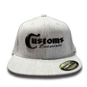 CUSTOMS 15 CAP GRAY[MADCUSTOM15]