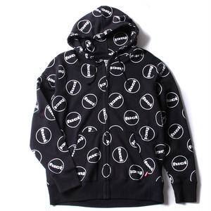 FUCT SSDD FUCT CIRCLE LOGO ZIP HOODIE #41903