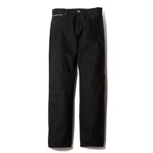 CUT RATE 5 POCKET DENIM PANTS BLACK CR-17SS005