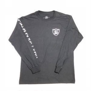 HARD LUCK SIX L/S TEE BLACK