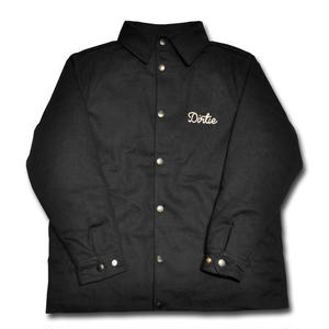 HARDEE COINS WORK JACKET BLACK
