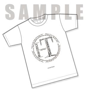 """白Tシャツ""""Song Book"""""""