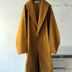 コーデュロイ晴着コート / yellow