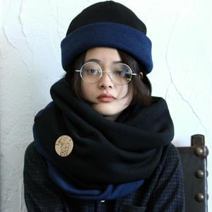 炬燵薫るニットスヌード / kon