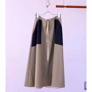 モッズスカート/ beige