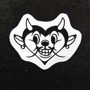 """""""Devil heart"""" Sticker"""