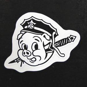 """Kill the pig"" Sticker"