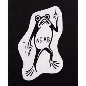 """A.C.A.B."" Sticker"
