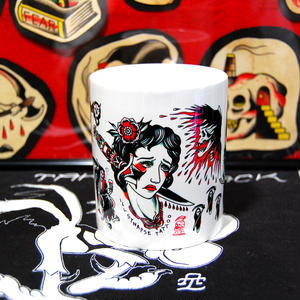 TATTOO FLASH MUG (Black&Red)