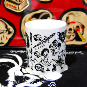 TATTOO FLASH MUG(Black&White)