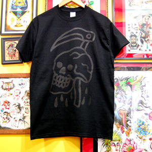 ILL-REAPER logo tee shirt (Black)